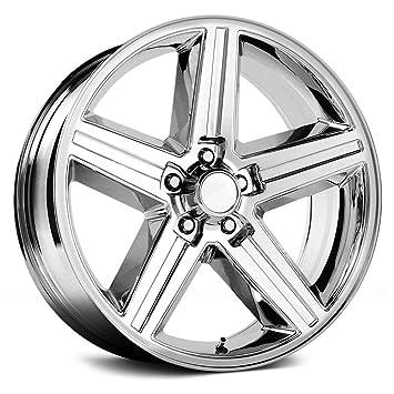 Amazon Com 22 Inch Velocity 248t Iroc Chrome Wheels Rims Only