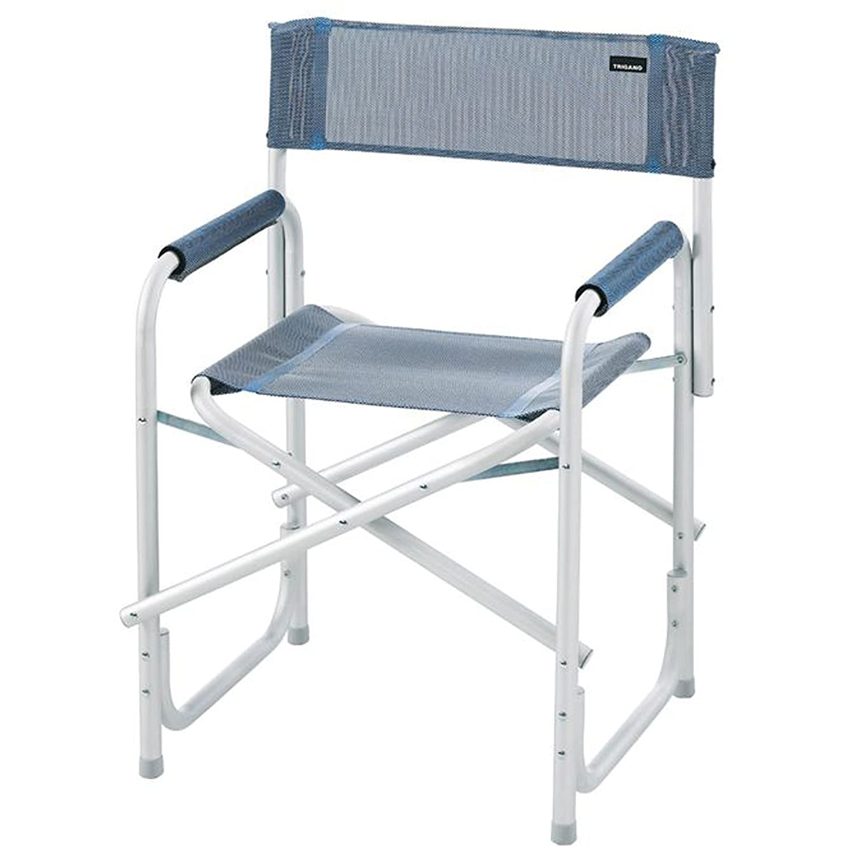 Lightweight Folding Aluminium Directors Chair Caravan Camping