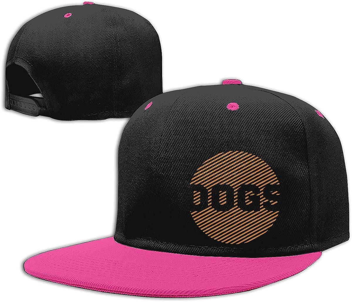 NMG-01 Women Men Snapback Cap Dogs Adults Flat Brim Baseball Caps