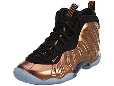 1469bc23ee5c2 NIKE Kids Little Posite One (GS) Black Metallic Copper Black Basketball Shoe  4.5
