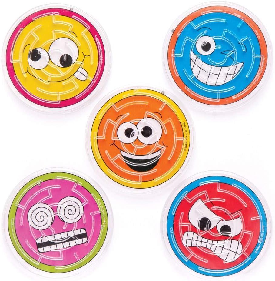 Mini Maze Smiley Puzzle Mini Maze Loot Bag Toys Free p+p Mini Maze Party Toys
