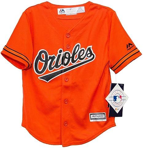 375416c39e9 Amazon.com : Baltimore Orioles Toddler Orange Jersey by Majestic (2T ...