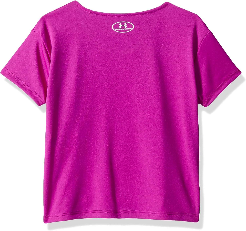 B07D8GC7TN Under Armour Girls\' Toddler Fashion SS TEE, Strobe, 3T 81Oc1d6KR5L