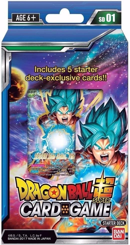 BANDAI bcldbst7177 el Despertar Dragonball Super Card Game Starter Deck: Amazon.es: Juguetes y juegos