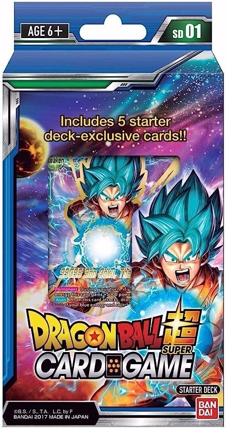 6 VALUE 2 Dragon Ball Super Card Game Variety WMAT Gift Box 3 3 Sets 1 5 4