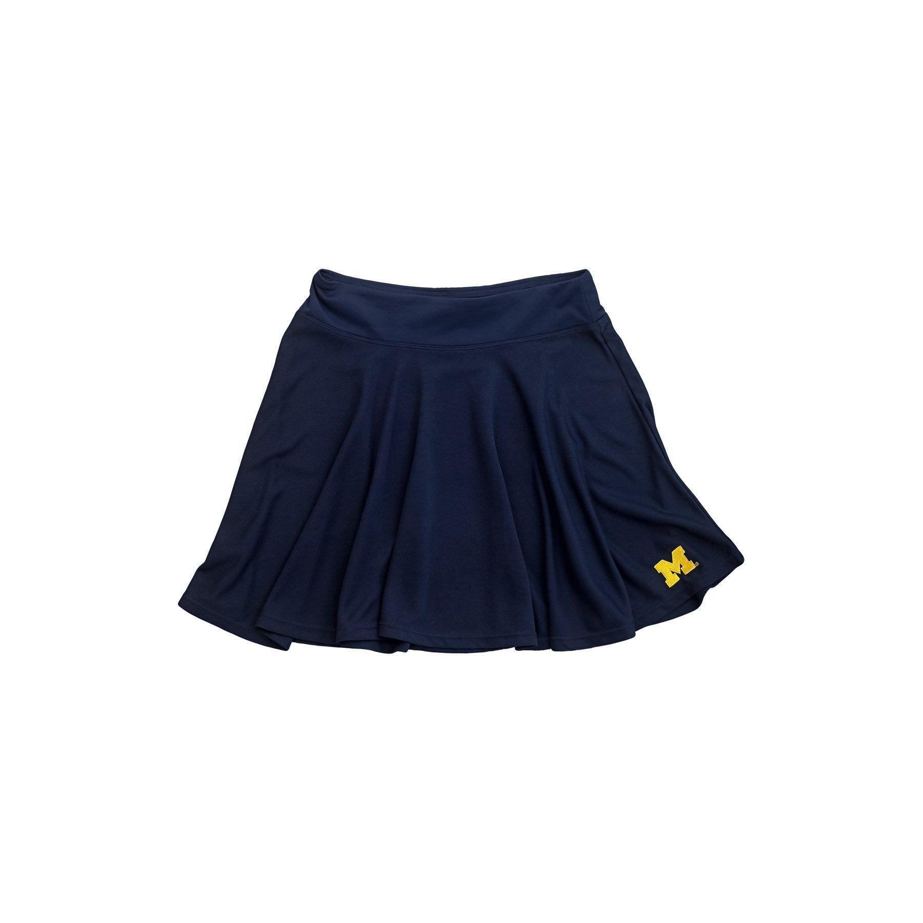 nuyu University of Michigan Skater Skirt Size S