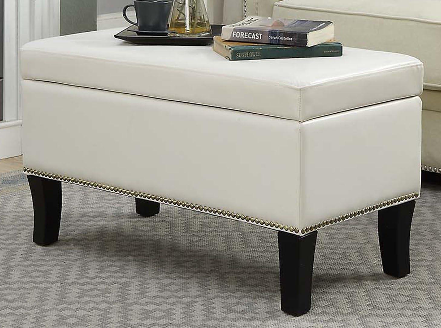 Reviewed: Convenience Concepts Designs4Comfort Winslow Storage Ottoman