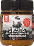 Steens Manuka Honey UMF 15 (MGO 514) 8.8 Ounce | Pure Raw Unpasteurized Honey From New Zealand | Contains Natural Healing Properties for Sore Throats & Immunity | Traceability Code on Each Label