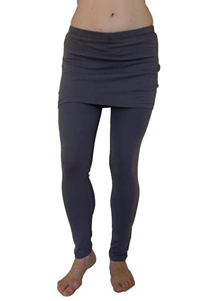 1c79e8aa5a3fd6 N2 N 365 Women's Full Length Skirted Leggings Tights at Amazon Women's  Clothing store: