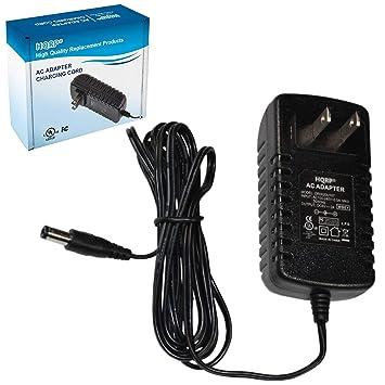HQRP 6V AC Adapter for Akai MPK2 MPK25 MPK49 MPK61 MPK88 MPK249 MAX49  Keyboard Power Supply Cord Adaptor [UL Listed] + Euro Plug Adapter