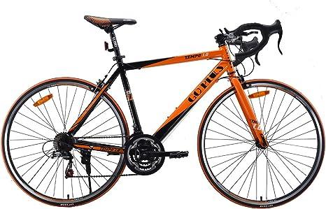 GOPLUS Bicicleta de Carretera Shimano 700C de Aluminio de 21 ...