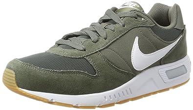 Nike Nightgazer, Baskets Homme, Gris (River Rock/White-Gum Light Brown), 42 EU