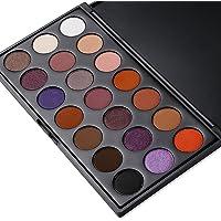 DONGXIUB Matte Shimmer 21 Color Eyeshadow Smokey Warm Eyes Powder Pallet Eye Make Palette