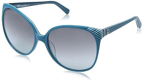 M Missoni Damen MM606S Groß Sonnenbrille, Gr. One Size, Turquoise