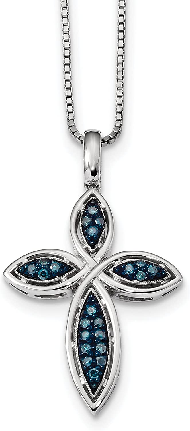 Platinum Cross Pendant for Women Fine Jewelry Ideal Gifts For Women