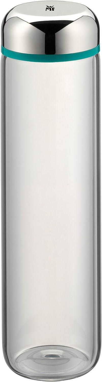 WMF - Botella de cristal, 0,75l, color turquesa, altura 26cm, colección Basic