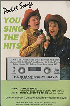 Various - You Sing The Hits Of Randy Travis - Amazon com Music