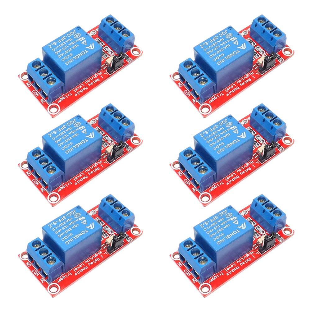 Keenso 1 Channel with Optocoupler Low Level Trigger Expansion Board for Arduino 5V//12V//24V 12V Relay Module Relay Board