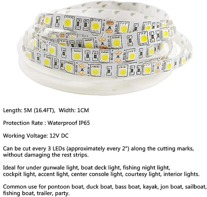 Marine Boat RV LED Integrierte Leselampen Schreibtischlampe 12V Lampenkopf