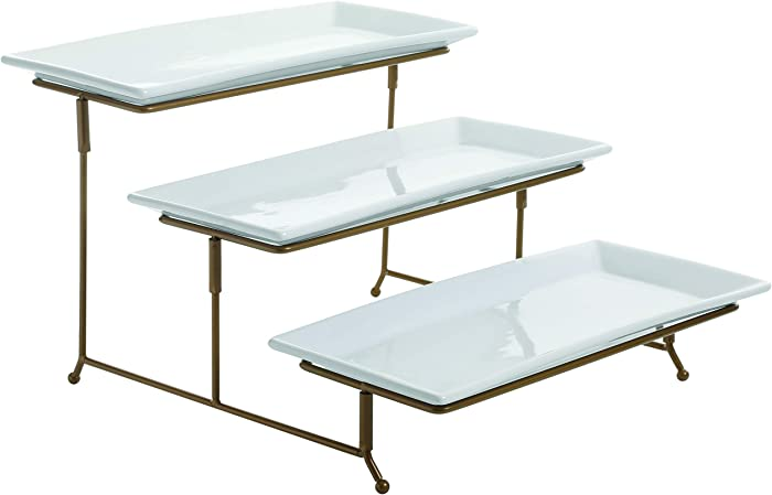 Top 9 3 Tier Dessert Stand Food Tray
