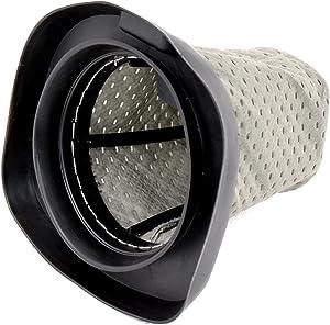 HQRP Dust Cup Filter for Dirt Devil F25 F-25 2SV1102000 3SV0980000 Replacement fits Dirt Devil SD20000 Simpli-Stik / 083405 M083405 Versa Power Series Stick Vac Vacuum Cleaner + HQRP Coaster