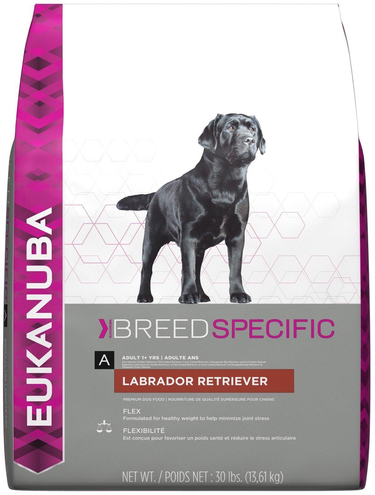 Eukanuba Breed Specific Adult Labrador Retriever Dog Food 30 Pounds