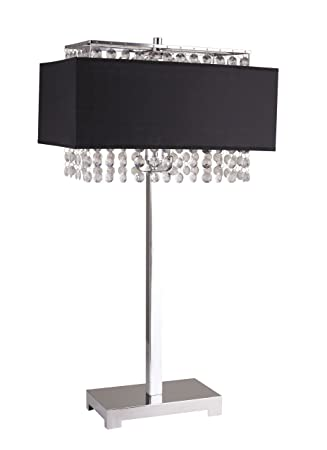 Amazon Com Milton Greens Stars A733bk Shannon Crystal Table Lamp
