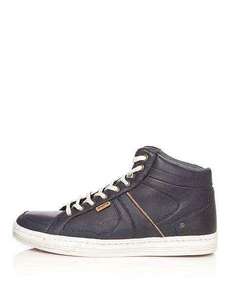Springfield Zapatillas Cordones Azul Marino EU 42: Amazon.es: Zapatos y complementos