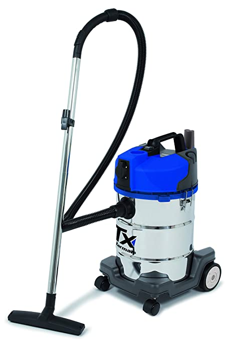 korman Tx - Aspirador Agua y Polvo 1400W - 30L - Acero ...