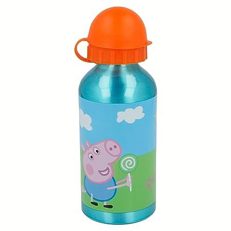 Stor Botella Aluminio 400 ML | Peppa Pig: Amazon.es: Juguetes y juegos