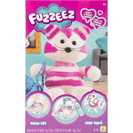 Amazon Com The Orb Factory Fuzzeez Cat Toys Games