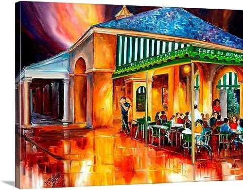 Cafe du Monde Canvas Wall Art Print