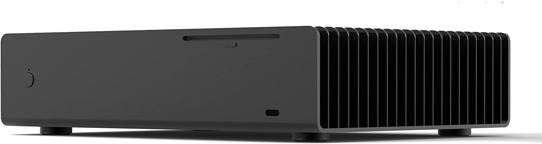 PHT FLS-08-Black Low profile HTPC aluminum chassis w//free thermal riser