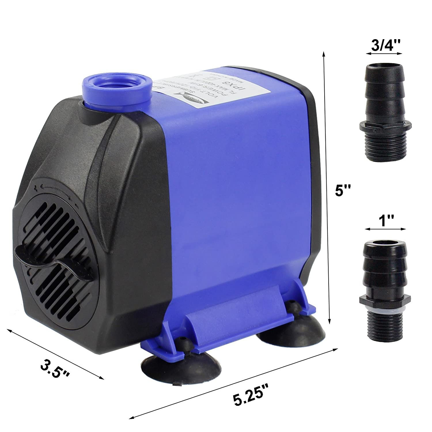 Amazon AQUANEAT 400 GPH Submersible Water Pump Adjustable