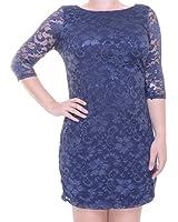 bdc204c4b3a BCX Pat F Dress 3 4 Sleeve Size 13 NWT - Movaz