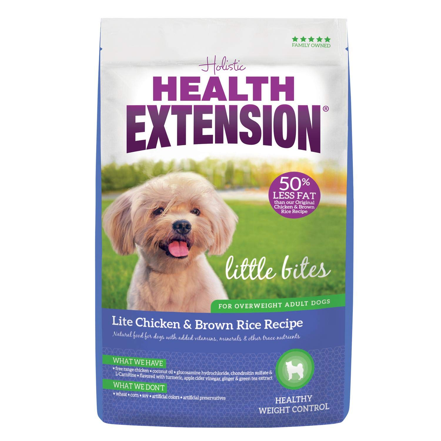 Health Extension Little Bites Lite Chicken & Brown Rice Recipe, 4-Pounds by Health Extension