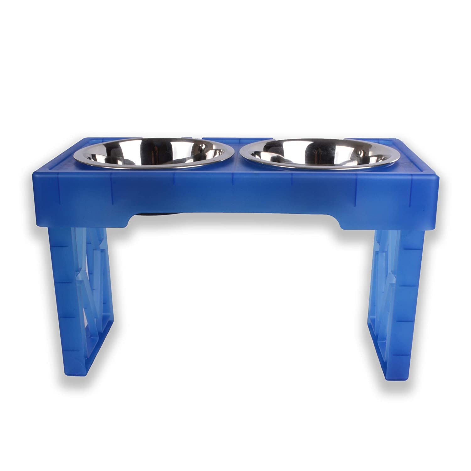 Our Pets 2550014115 Pet Zone Designer Diner, Royal bluee, One Size