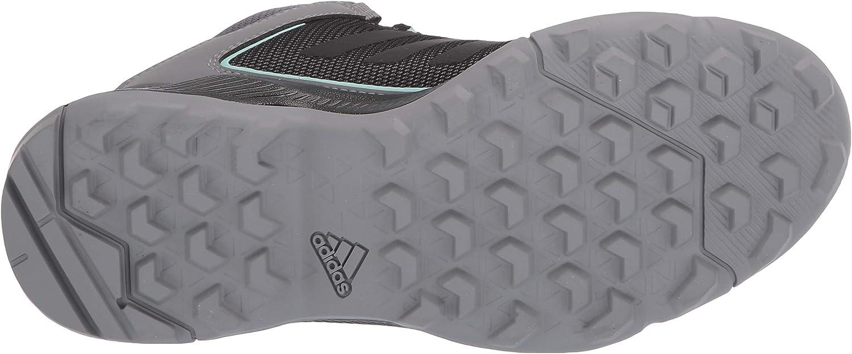 Adidas Terrex Eastrail Mid GTX Chaussures de randonnée pour femme Gris Noir Menthe Transparente