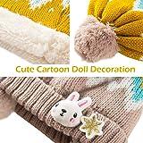 TRIWONDER Kids Winter Knit Hat Scarf Set Warm
