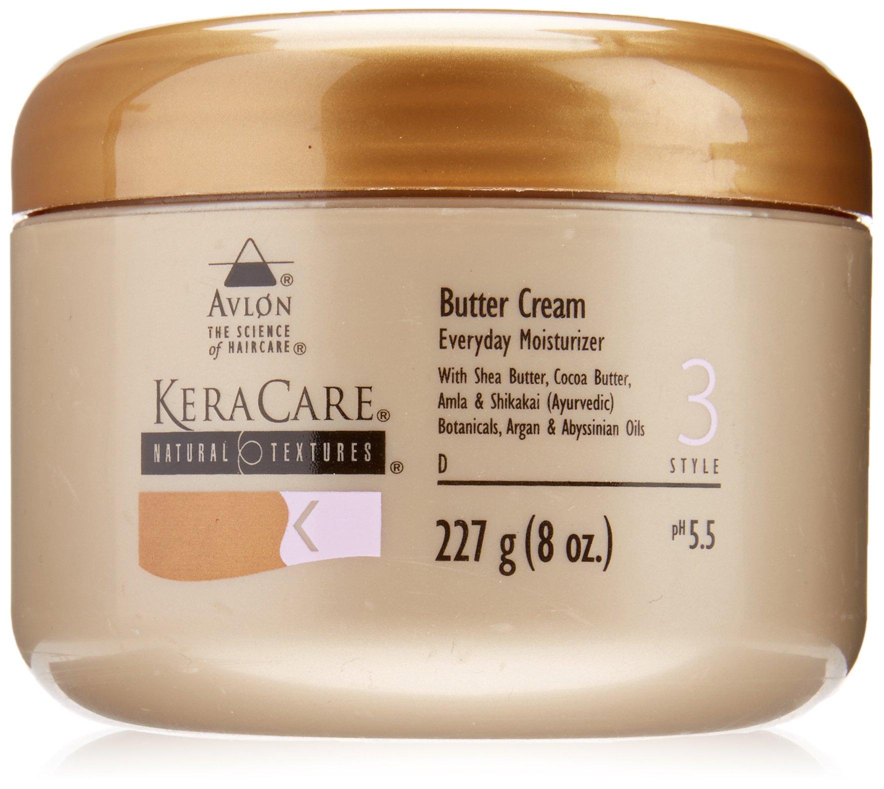 Avlon Keracare Natural Texture Butter Cream, 8 Ounce
