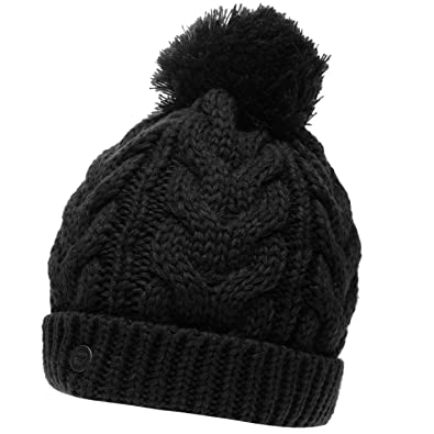 d384549b SoulCal Womens Vesna Hat Bobble Knitted: Amazon.co.uk: Shoes & Bags