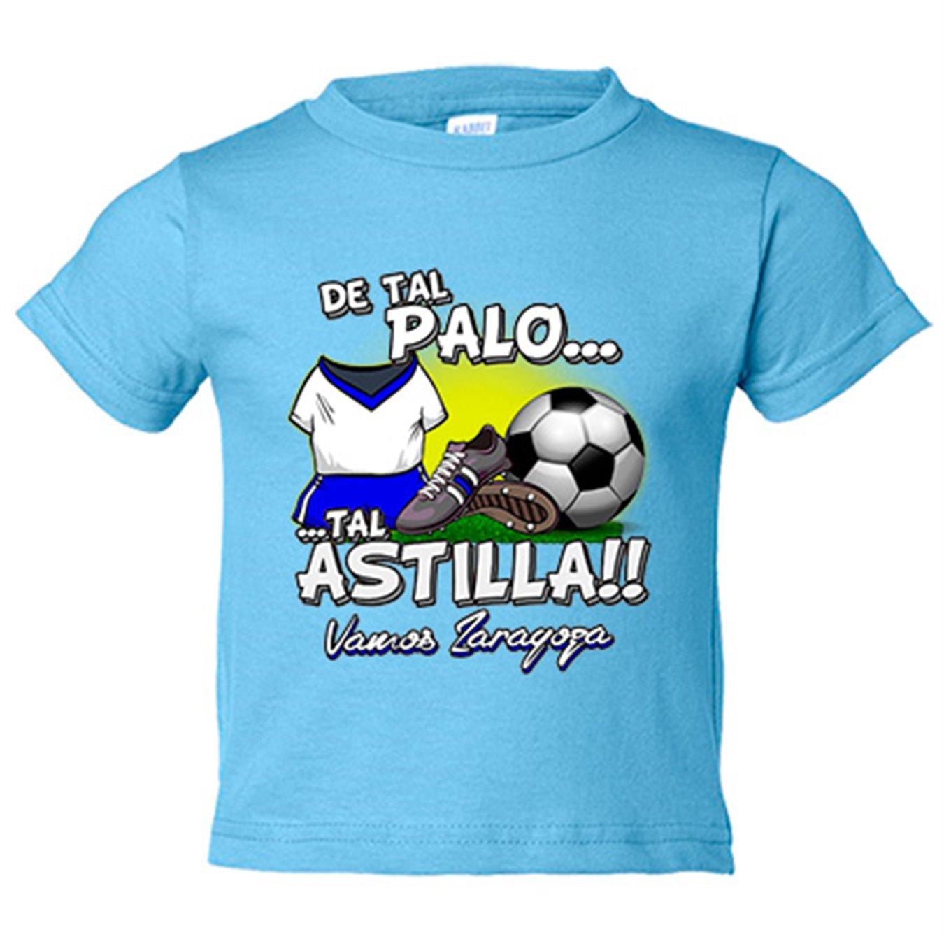 Camiseta niño De tal palo tal astilla Zaragoza fútbol ...