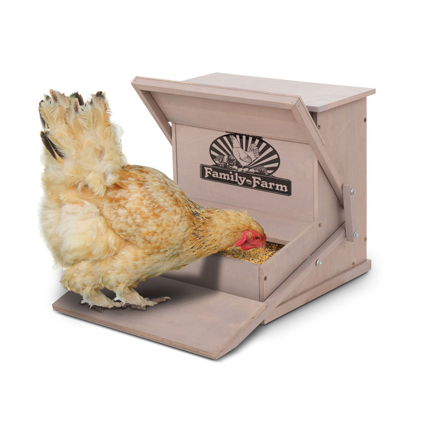 bundle hens hungry feed drum payment available feeder product storage options treadle chicken range and free