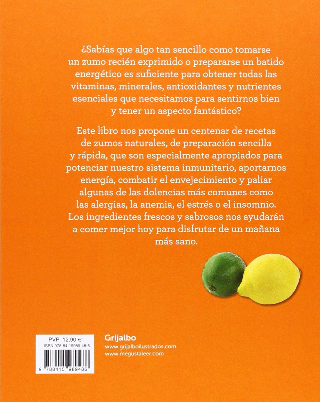 100 zumos para cuidar tu salud : 100 recetas naturales para estimular tu cuerpo y tu mente: Sarah Owen: 9788415989486: Amazon.com: Books