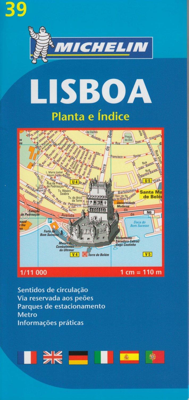 Stadtplan Lissabon (Portugiesisch) Landkarte – Folded Map, 21. Februar 2006 Michelin Travel Publications 2067117114 Europa Karten