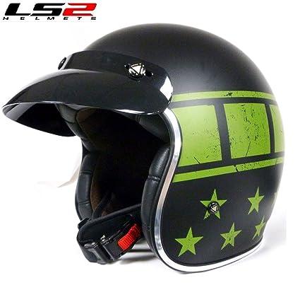 Amazon.es: Cascos Jet moto: KURT LS2 OF583 Casco de la ...