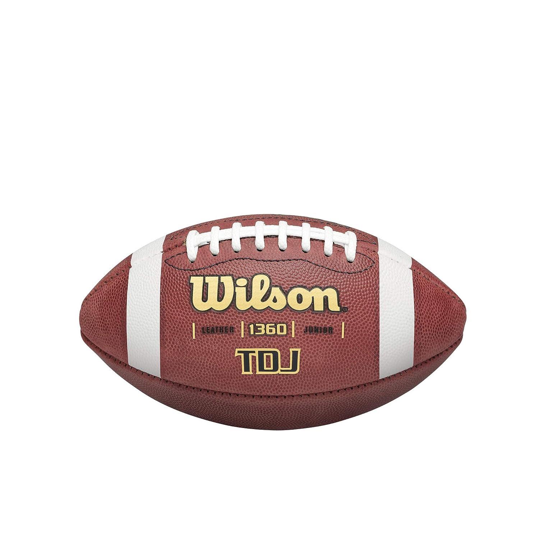 Wilson WTF1360B Pelota de fútbol Americano TDJ Junior Cuero, para ...