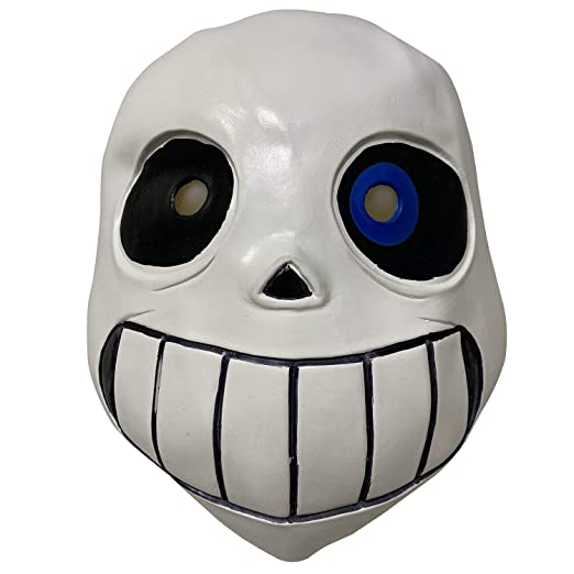 Amazon Com Lepy Sans Undertale Mask With Blue Eye Latex