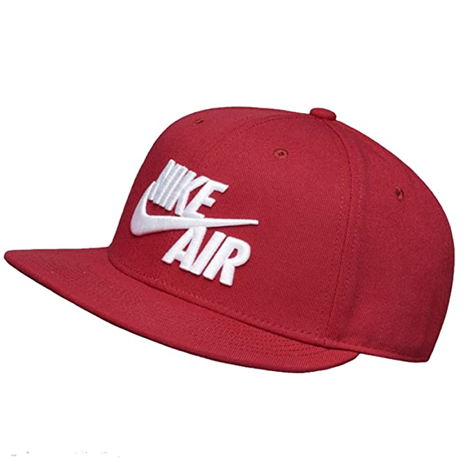 the latest 00281 fb39f Nike Men s Air True Cap Classic, Red Crush White, One Size  Amazon.co.uk   Sports   Outdoors