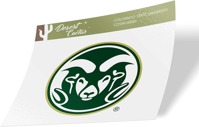 Colorado State University CSU Rams NCAA Vinyl Decal Laptop Water Bottle Car Scrapbook (Sticker - 00001)
